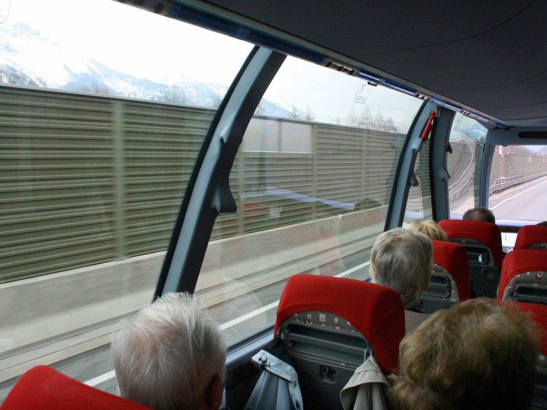In einem Reisebus nach Kroatien wurde der Busfahrer tätlich angegriffen