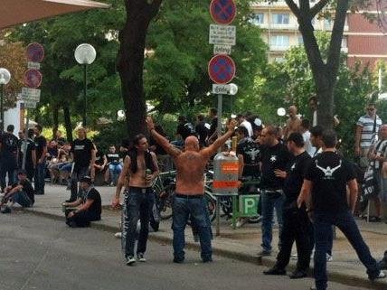 Am Schwedenplatz, wo der Rabbiner beschimpft wurde, findet nun der Flashmob statt
