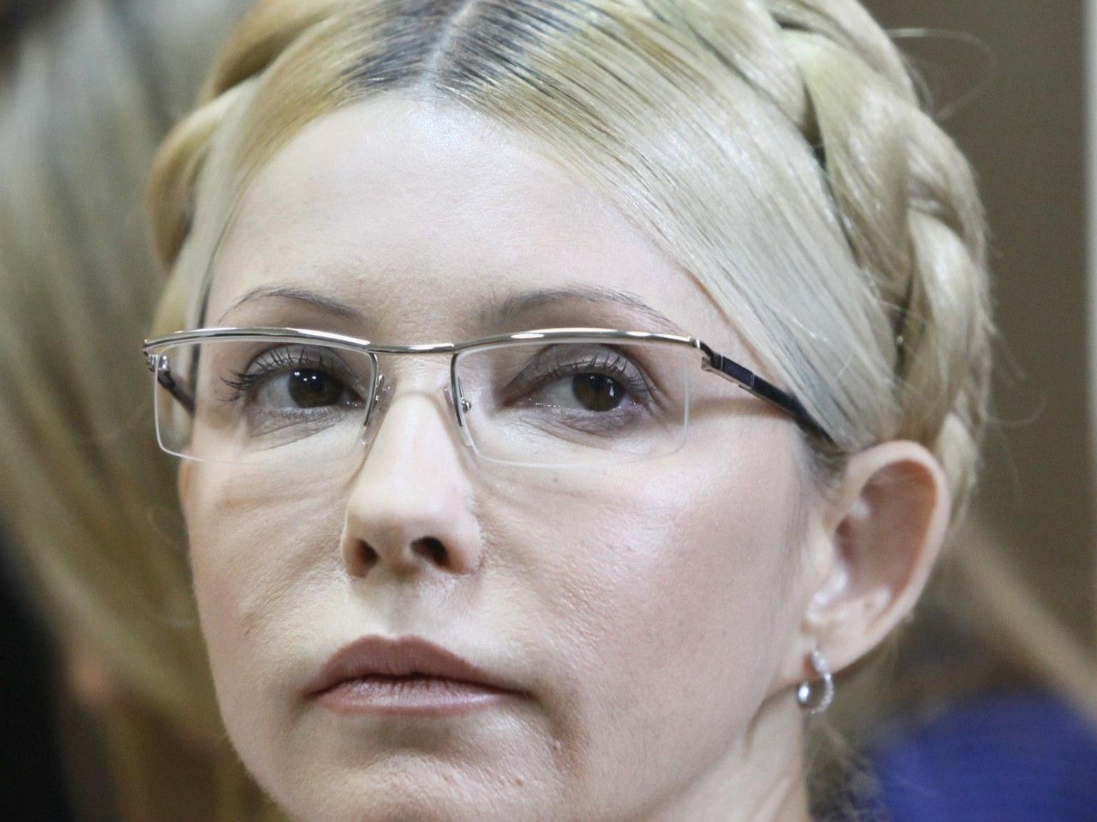 Timoschenko fürchtet sich vor einem Strahlenangriff.