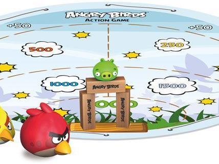 Angry Birds kann in Zukunft nicht mehr nur am Bildschirm gespielt werden.