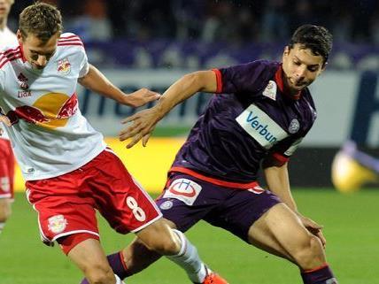 Red Bull Salzburg beendete am Samstag den Erfolgslauf der Wiener Austria.