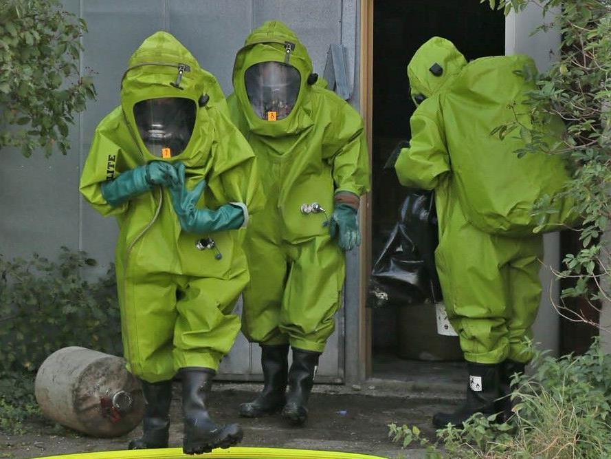 Drei Arbeiter wurden bei dem Chemieunfall in Sooß in Baden verletzt.