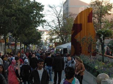 Nach Angaben der Geschäftsleute waren 1,5 Millionen Kunden beim Festival am Freitag und Samstag dabei.