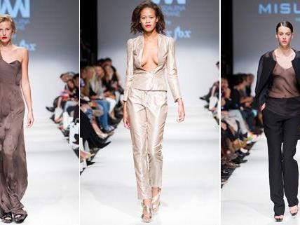 Am Samstag präsentierten vor allem internationale Designer ihre Kollektionen auf der Vienna Fashion Week.