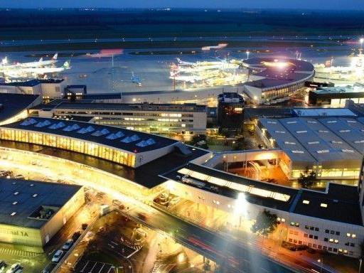 Bei dem Unfall am Flughafen Wien gab es glücklicherweise keine Verletzten.