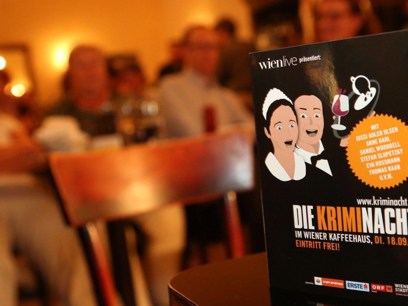 Die 8. Wiener Kriminacht lockte 29.000 Besucher an.