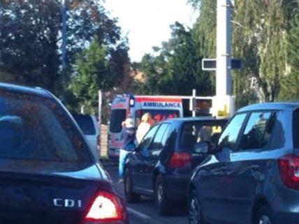 Rettungseinsatz am Dienstag in Döbling bei einem Unfall.