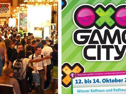 Game City im Wiener Rathaus: Ein Paradies für Videospielfans