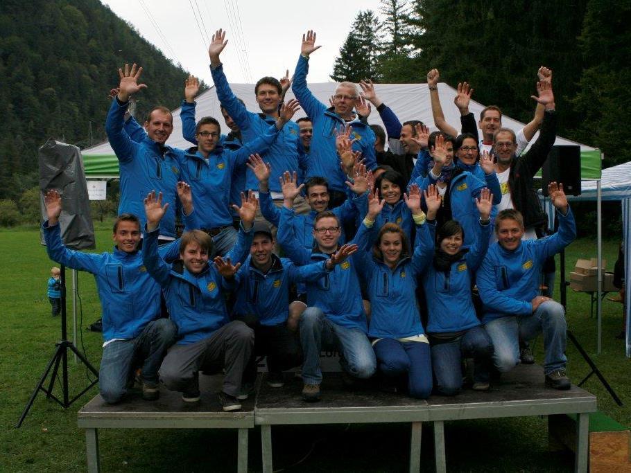 Das OK Team des 1. Trailruns in Lorüns