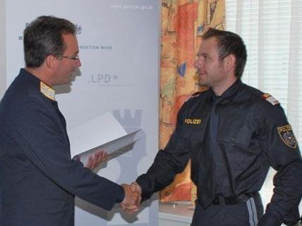 Das erfolgreiche Ermittlungsteam wurde im Fall der am Wienerwaldsee gefundenen Leichenteile geehrt.