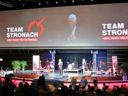 Der 27. September werde in die geschichte eingehen, so Frank Stronach.
