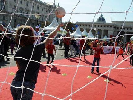 Am 22. September steht der Wiener Heldenplatz ganz im Zeichen des Sports.