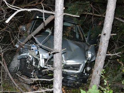 Der Unfall auf der A2 wäre vermutlich erst viel später entdeckt worden, wenn der Lenker nicht unverletzt geblieben wäre.