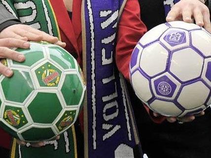 Bei Heimspielen von Rapid und Austria sollen sich die Fans mit Suchtprävention auseinander setzen.