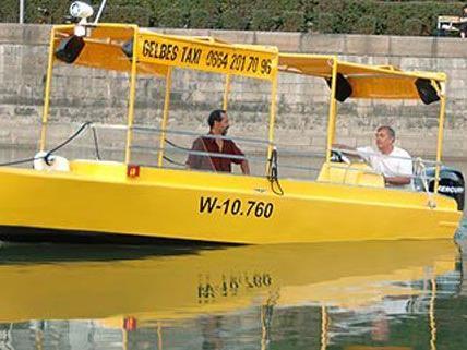 ganz ist das Projekt der Wassertaxis auf dem Donaukanal noch nicht vom Tisch.