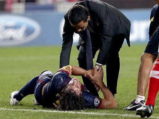Puyols erneute Verletzung schmerzt nicht nur ihn