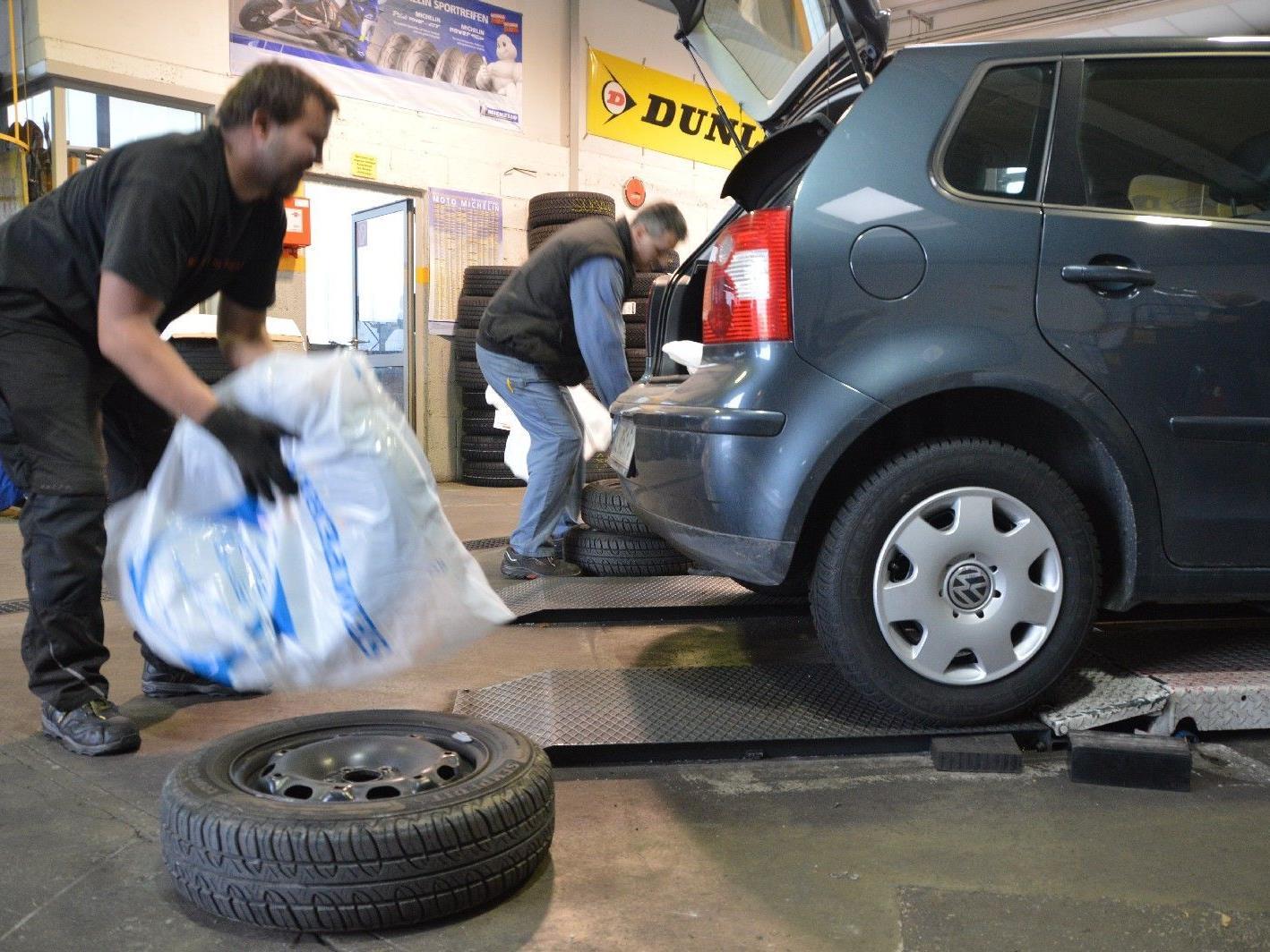 In Salzburgs Autowerkstätten herrscht derzeit Hochbetrieb.