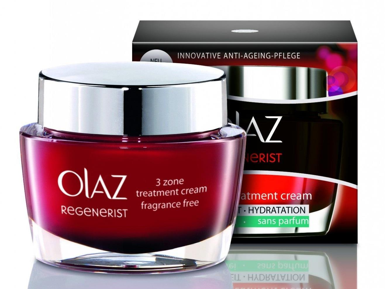 Wir verlosen 3 Stück Olaz Regenerist 3 Zone Treatment Cream parfumfrei.