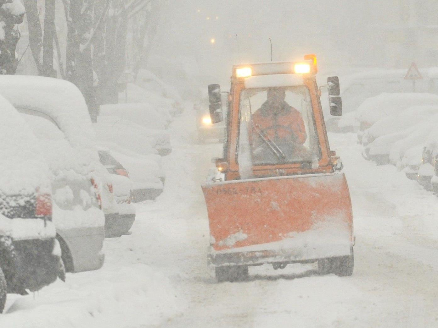 DIE MA 48 ist für den bevorstehenden Winter in Wien gerüstet.