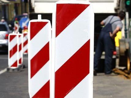 Bauuarbeiten in mehreren Bezirken in Wien