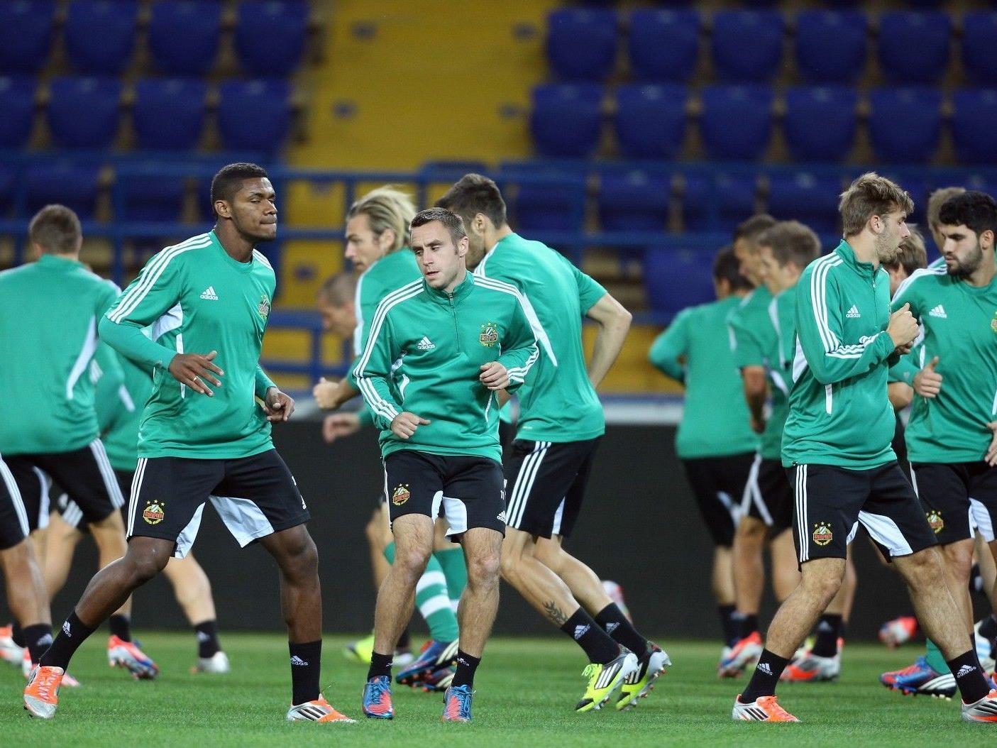 Rapid Wien muss gegen Metalist Charkiw gewinnen um dem Aufstieg in der Europa League näher zu kommen.
