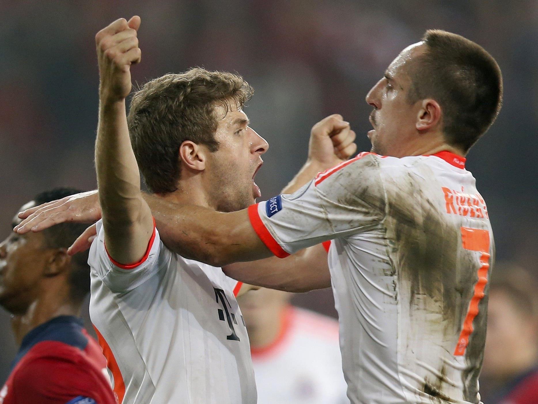 Bayern München fuhr wichtige Punkte ein.
