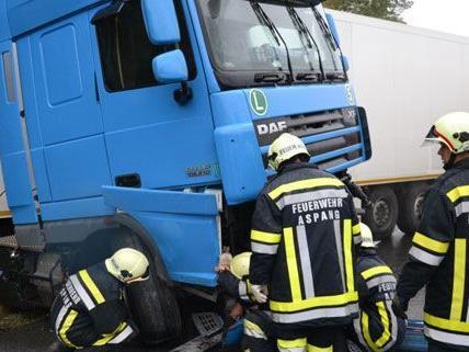 Fahrer verlor Kontrolle über LKW auf der A2 im Wechselabschnitt Richtung Wien