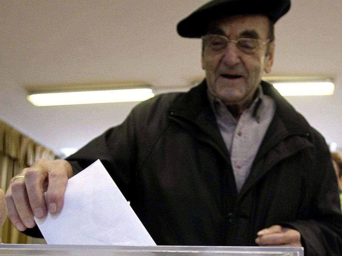 Baskenland: Radikale Separatisten dürften zweiten Platz erringen.