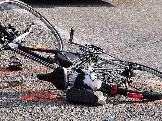 Zwei Radfahrer wurden in Wien verletzt