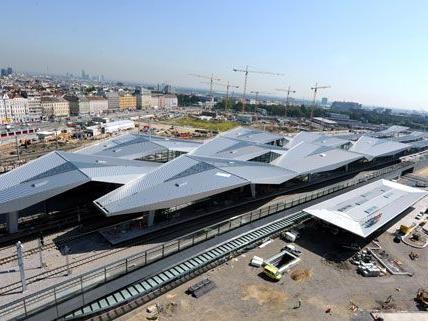 """Die U-Bahn-Station am Hauptbahnhof wird """"Südtiroler Platz - Hauptbahnhof Wien"""" heißen."""
