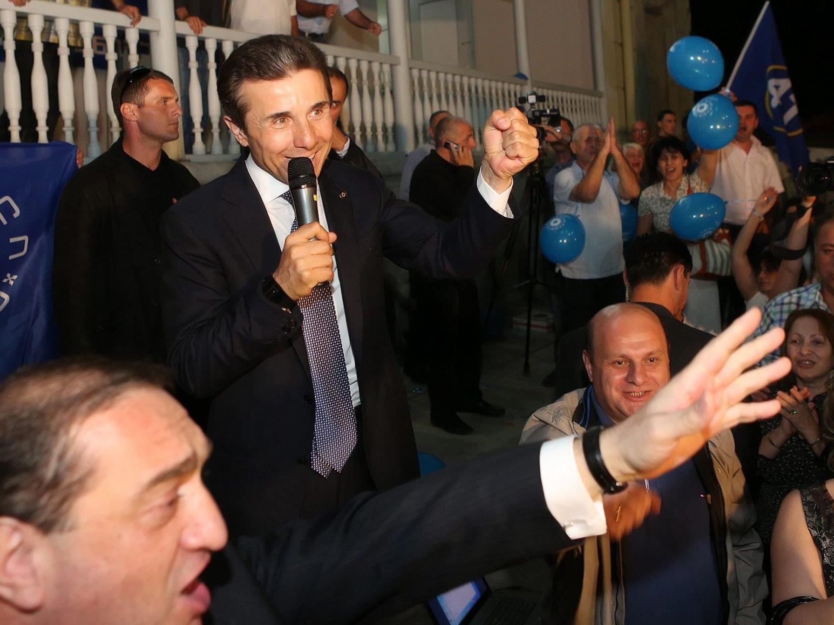 Der georgische Milliardär und Oppositionsführer Iwanischwili.