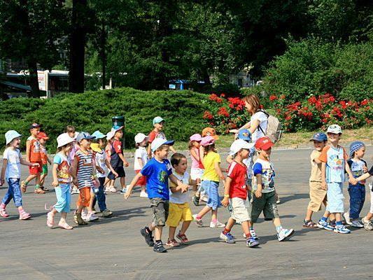 Gegen die schlechten Bedingungen im Kindergarten wird am Samstag demonstriert