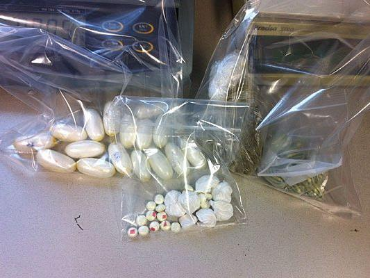 Diese Drogen wurden bei den Festgenommenen sichergestellt