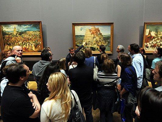Großer Andrang auch heuer wieder bei der Langen Nacht der Museen - zum Beispiel im Kunsthistorischen Museum in Wien
