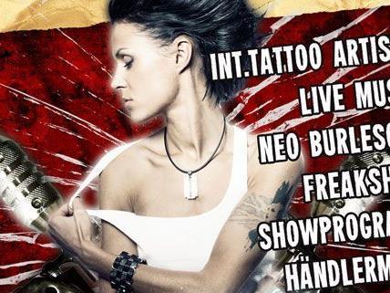 VIENNA.AT verlost 2x2 Tickets zur Tattooconvention Wien
