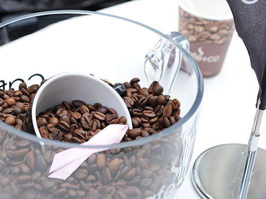 Ncith nur am Graben lässt man zum Tag des Kaffees die aromatische Bohne hochleben