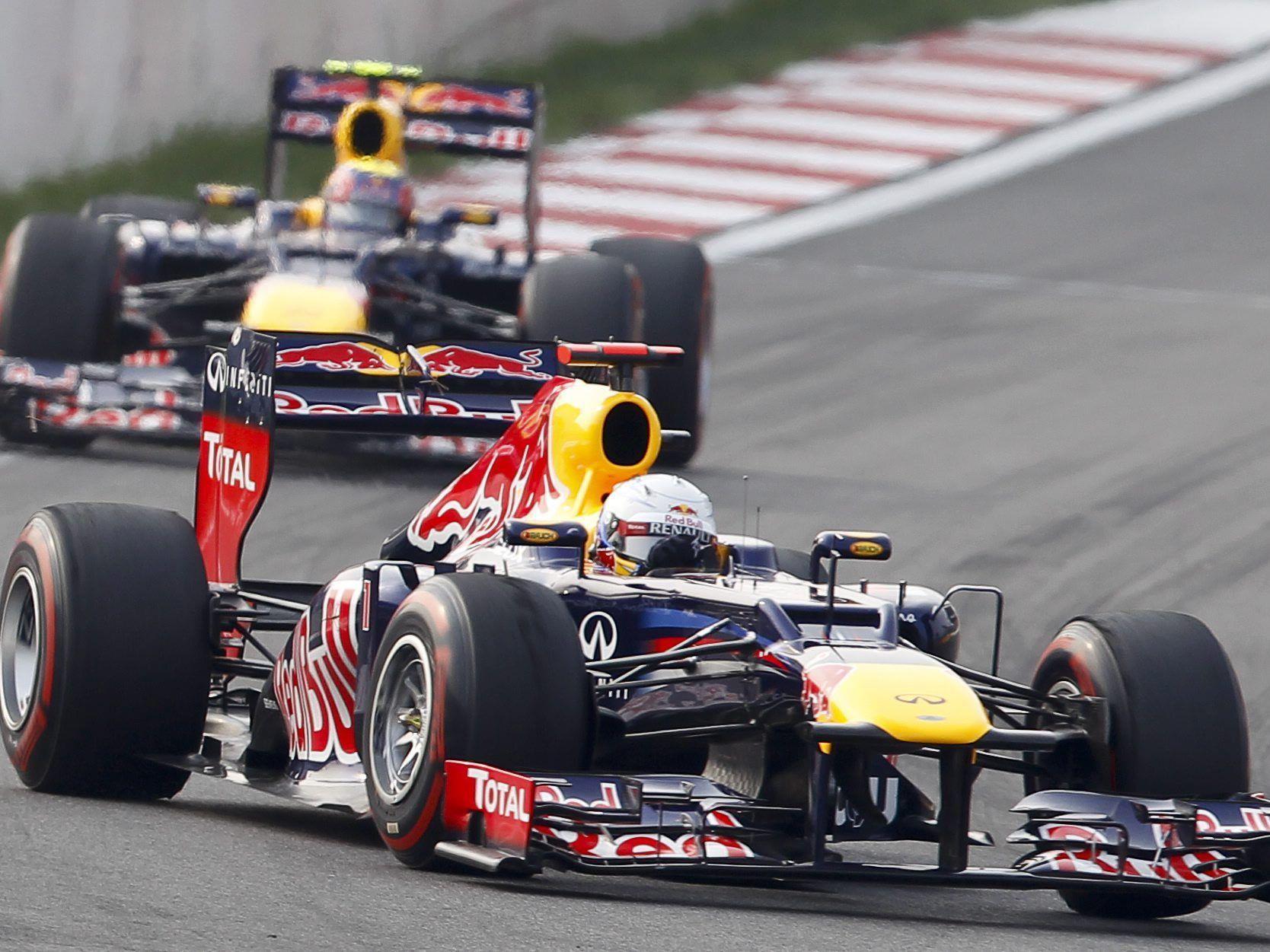 Sebastian Vettel ist mit seinem dritten Sieg in Folge wieder das Maß aller Dinge in der Formel 1.