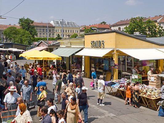 Beim Yppenplatz herrscht sonst reges Markttreiben - diesmal war er Schauplatz einer Entführung