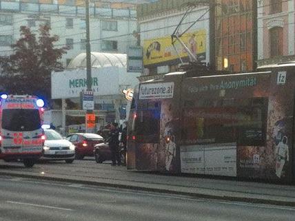 In Favoriten kam es am Freitag zu einem Straßenbahnunfall.