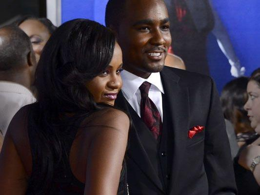 "Whitney Houstons Tochter Bobbi Kristina Brown mit ""Adoptivbruder"" Nick Gordon."