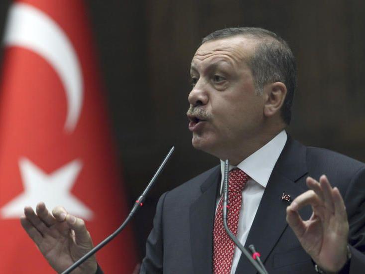 Türkischer Regierungschef Erdogan