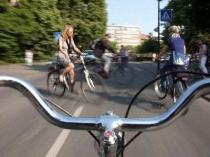 20 Stunden am Stück sind die Radfahrer der Critical Mass unterwegs.