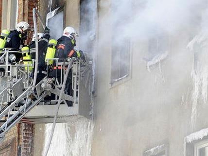 Zu einem Wohnungsbrand kam es am Samstag in Wien 15.