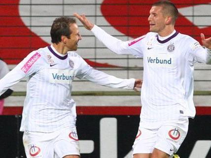 Austria Wien verbuchte gegen den FC Admira einen souveränen Sieg.