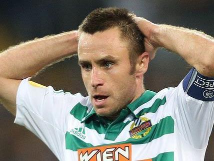 Noch ist unklar, ob Steffen Hofmann beim Wiener Derby zum Einsatz kommt.