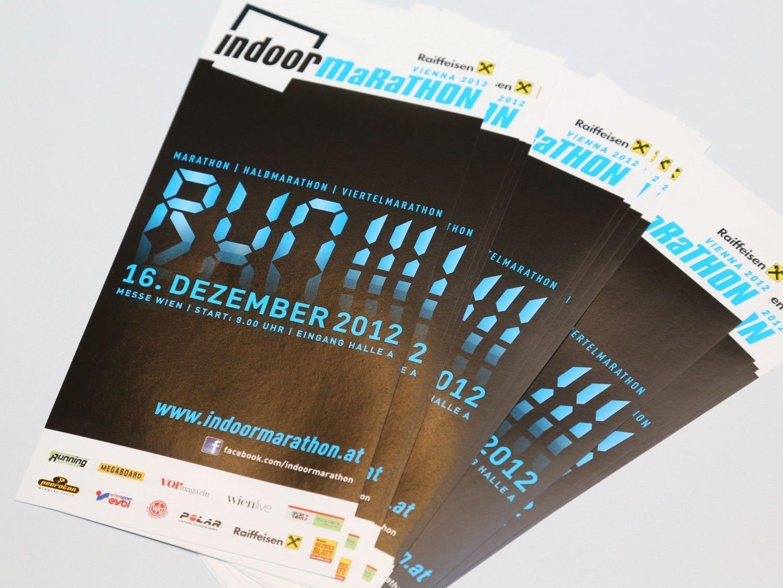 Am 16. Dezember findet der erste Indoor Marathon in der Messe Wien statt.