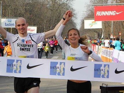 Auch heuer war der Andrang für den Sie + Er Lauf in Wien groß.