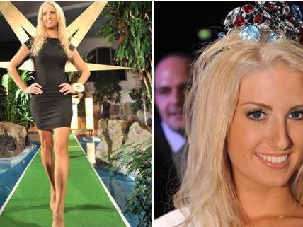 """Die fesche Wienerin Sandra Steidl ist Österreichs """"Miss Earth"""" 2012."""