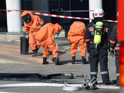 Giftstoffe waren in Wien-Simmering ausgetreten.