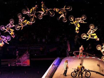 Nitro Circus kommt am 23. und 24. November 2012 in die Wiener Stadthalle.